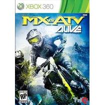Mx Vs Atv Alive Jogo Xbox 360 Original Lacrado