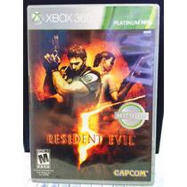 Jogo Resident Evil 5 Xbox 360, Original, Novo, Lacrado