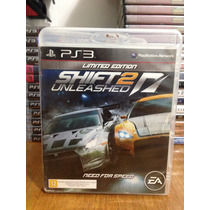Need For Speed Shift 2 Unleashed Ps3 Completo Mídia Físicafi