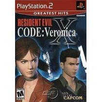 Resident Evil Code Veronica X Ps2 Patch - Frete Só 6,00