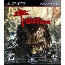 Jogo Novo Lacrado Dead Island Riptide Para Playstation 3