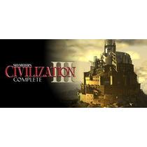 Sid Meiers Civilization 3 Complete Original Pc