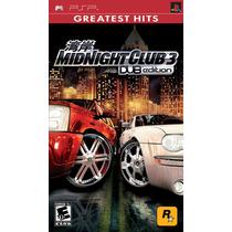 Jogo Lacrado Midnight Club 3 - Dub Edition Para Psp