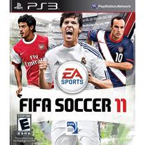 Fifa Soccer 11 Jogo Ps3 | Futebol Produto Original