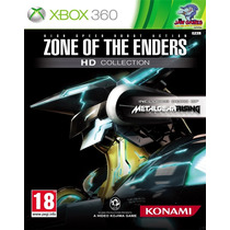Jogo Xbox 360 - Zone Of The Enders Hd Collection - Novo