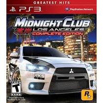Midnight Club L.a Ps3 Envio Imediato
