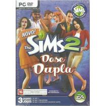 Jogo - Game - Pc The Sims 2 Dose Dupla Em Portugues - Novo