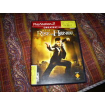 Jogos Originais Ps2 - Jet Li Rise To Honor