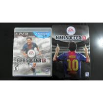 Fifa 2013 Ps3 Edição Gamestop Steelbook Original