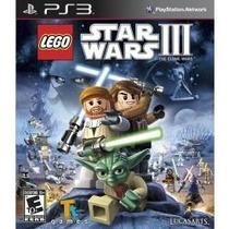 Lego Star Wars Iii 3 Clone Wars - Ps3 - Original