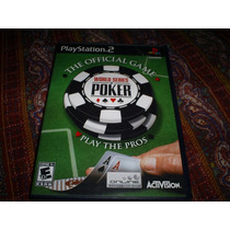 Jogos Originais Ps2 - Wolrd Series Of Poker Official Game