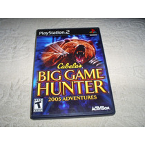 Jogos Originais Ps2 - Cabelas Big Game Hunter Adventures 2k5