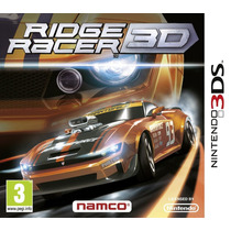 Jogo Ridge Racer 3d Nintendo 3ds Original Seminovo Europeu