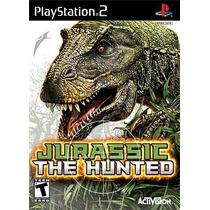 Jurassic The Hunted Ps2 Patch Com Capa E Impressão