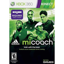 Game Micoach By Adidas For Kinect Xbox 360 Frete Grátis
