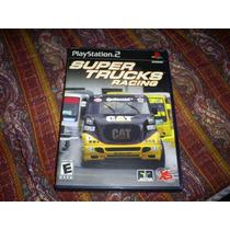 Jogos Originais Ps2 - Super Truck Racing