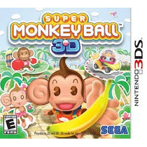 Super Monkeyball Nintendo 3ds Lacrado