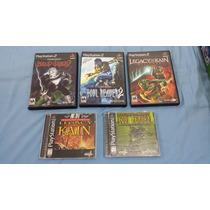 Colecao Completa Legacy Of Kain - Ps1 E Ps2 5 Jogos Da Serie