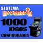 Arcade Mame + Hyperspin 10 Sistemas 1000 Jogos Frete Gratis