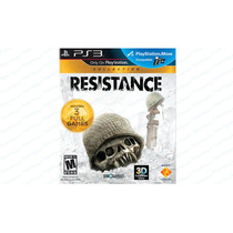 Resistance Collection Trilogy 1, 2 E 3 - 3 Jogos - Ps3
