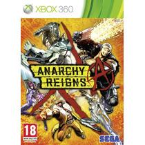 Anarchy Reigns Xbox 360 Original E Lacrado Pronta Entrega