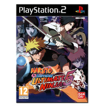 Naruto Shippuden Ultimate Ninja 5. ! Jogos Ps2