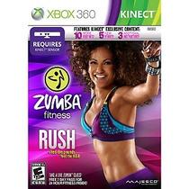 Jogo Novo Lacrado Zumba Fitness Rush Para Kinect - Xbox 360