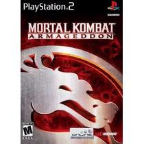 Jogo Ps2 - Mortal Kombat - Armageddon