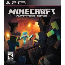 Jogo Minecraft - Ps3 Mojang