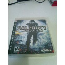 Call Of Duty World At War Original Ps3