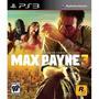 Max Payne 3 Original Ps3 (código Psn) Envio!