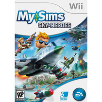 Super Game Wii My Sims Sky Force Compre Ja Me