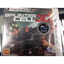 Splinter Cell 3d 3ds Lacrado !! Ubisoft