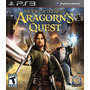 Jogo Ps3 - Lord Of The Rings Aragorn´s Quest - Europeu