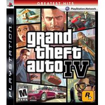 Gta 4 Grand Theft Auto Iv Ps3 - Original Lacrado De Fabrica