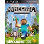 Minecraft Ps3 Edition Original Dublado Pt Br Receba Agora