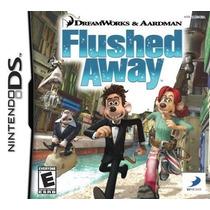 Jogo Nintendo Ds 3ds Dsl Flushed Away Por Agua Abaixo.