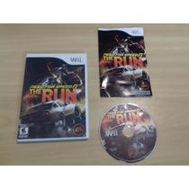Need For Speed: The Run - Nintendo Wii - Original - American