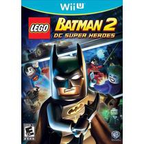 Jogo Lego Batman 2 Dc Super Heroes Wii U Nintendo Lacrado