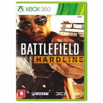 Battlefield Hardline Xbox 360 Português Novo Original