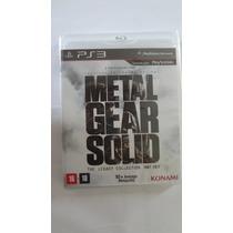 Jogo Para Ps3 Metal Gear Solid The Legacy Novo E Lacrado