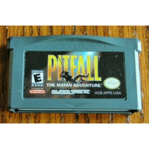 Gba: Pitfall Mayan Adventure!! Jogo Conservado + Garantia!!!