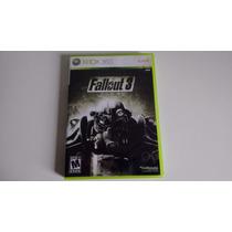 Jogo Xbox 360 Fallout 3 Original Completo