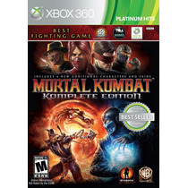 Mortal Kombat 9 Komplete Edition - Xbox 360 Mídia Física