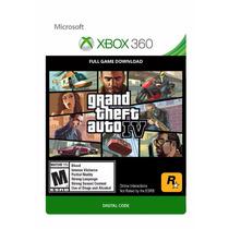 Grand Theft Auto Iv - Xbox 360 - Codigo 12 Digitos