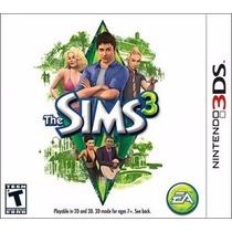 Jogo Nintendo 3ds The Sims 3 Original Lacrado