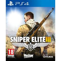 Sniper Elite 3 Ps4 Enviamos Agora Código Psn