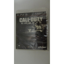 Call Of Duty Ghosts Para Ps3 Novo E Lacrado