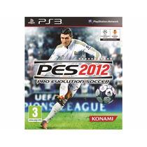 Pro Evolution Soccer 2012 - Pes 12 Jogo Ps3 Em Disco