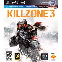 Jogo Ps3 - Killzone 3 - Novo